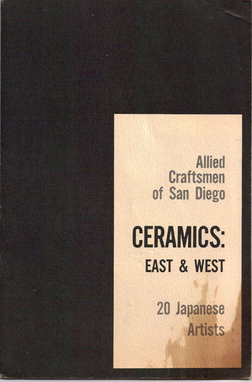 Allied Craftsmen - Ceramics: East & West Exhibition Catalog