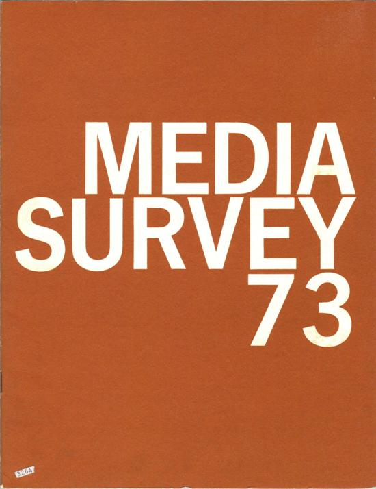 Media Survey 73 - Craft Exhibition Catalog