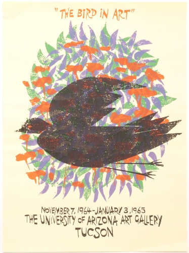 "Frasconi ""The Bird In Art"" Exhibition Poster"