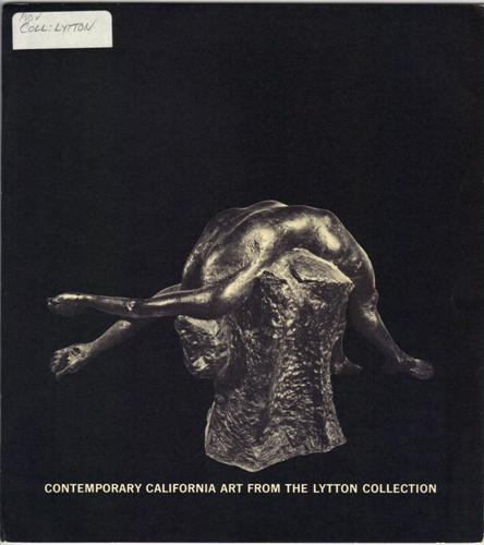 Contemporary California Art From The Lytton Collection