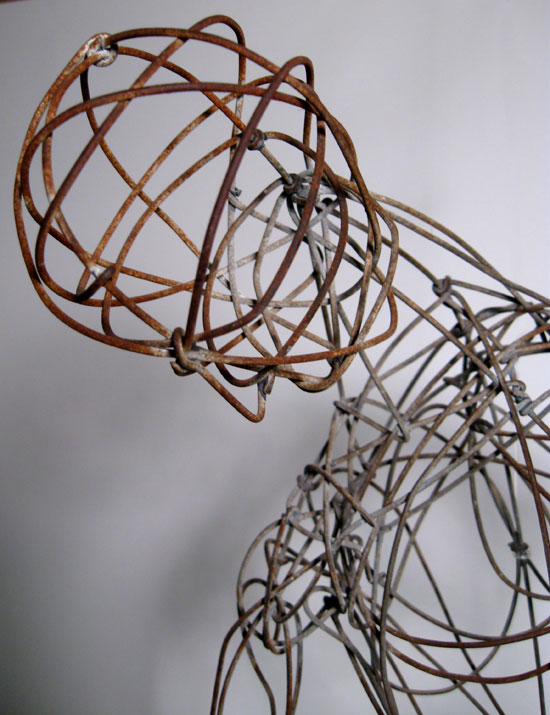 Barney Reid Wire Sculpture