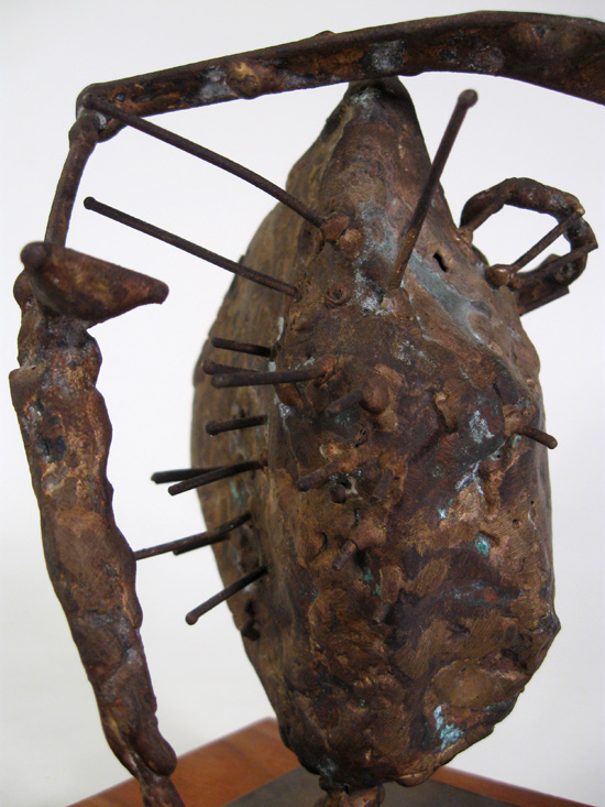 James Hubbell Welded Copper Sculpture