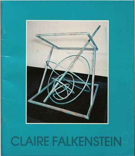 Claire Falkenstein Exhibition Catalog