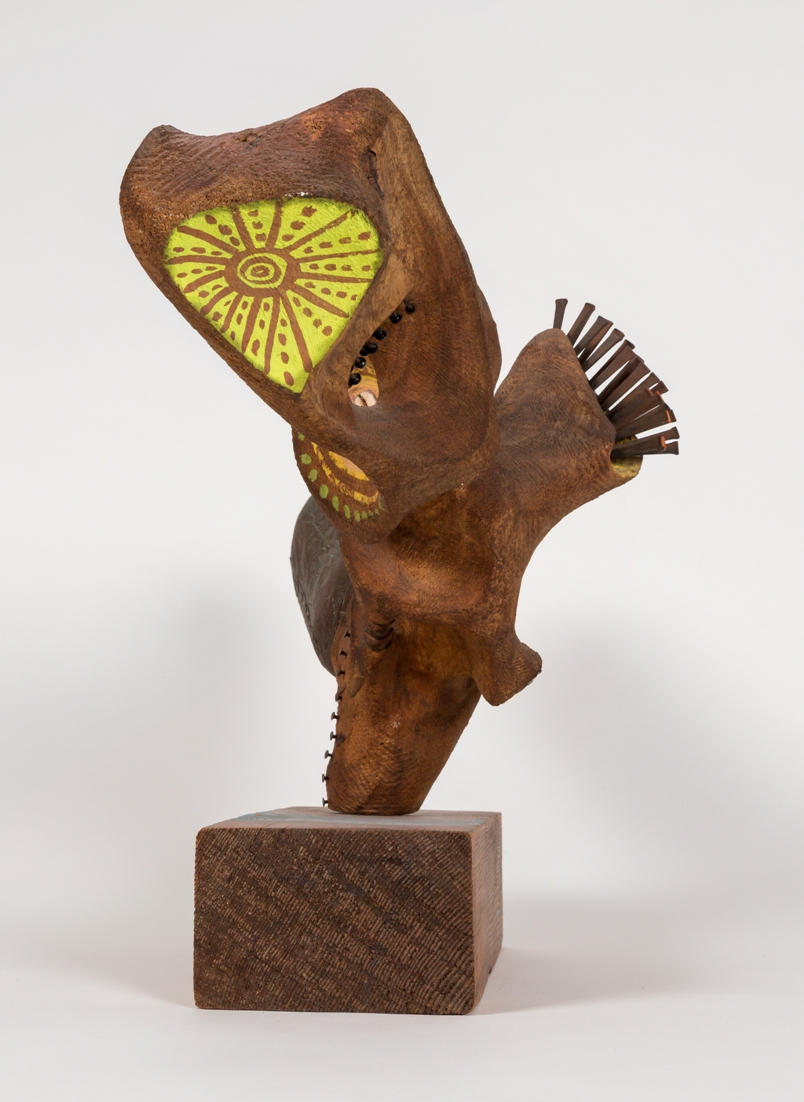 James hubbell abstract expressionist sculpture